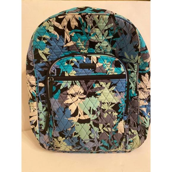 Vera Bradley backpack cloth camofloral pattern big